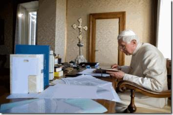 Pope Benedict's office
