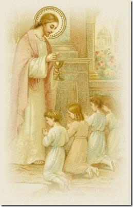 JesusCommunionChildren