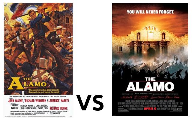 Alamo 1960 vs 2004