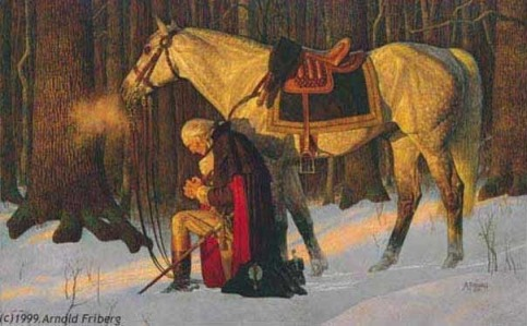 GeorgeWashingtonPray